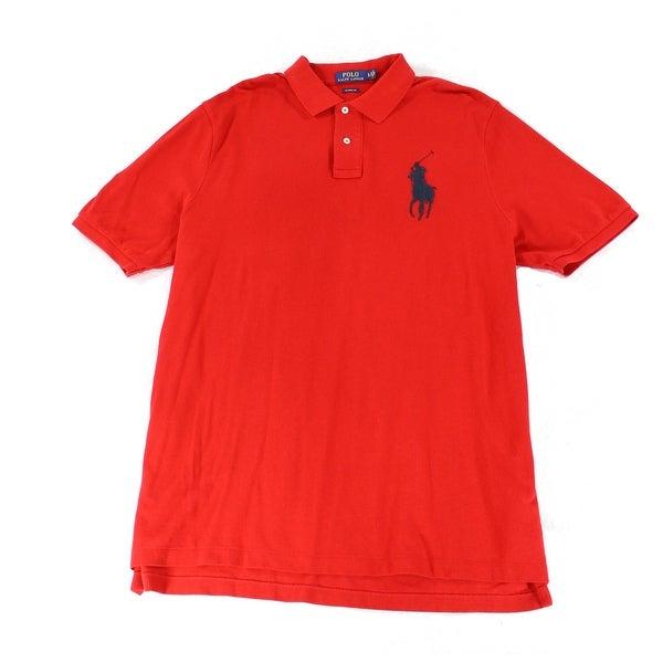 Shop Polo Ralph Lauren Mens Embroider Logo Polo Shirt Free