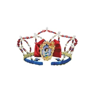 Disguise Disney Princess Snow White Tiara - Red/Yellow/Blue