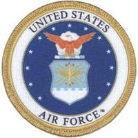 """Air Force 3"""" - C&D Visionary Patch"""