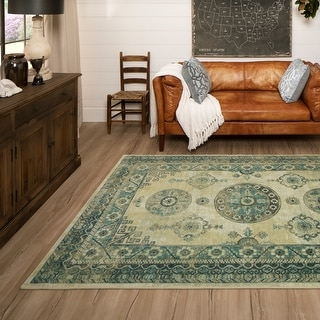 Link to Mohawk Home Ladoga Blue Area Rug Similar Items in Rugs