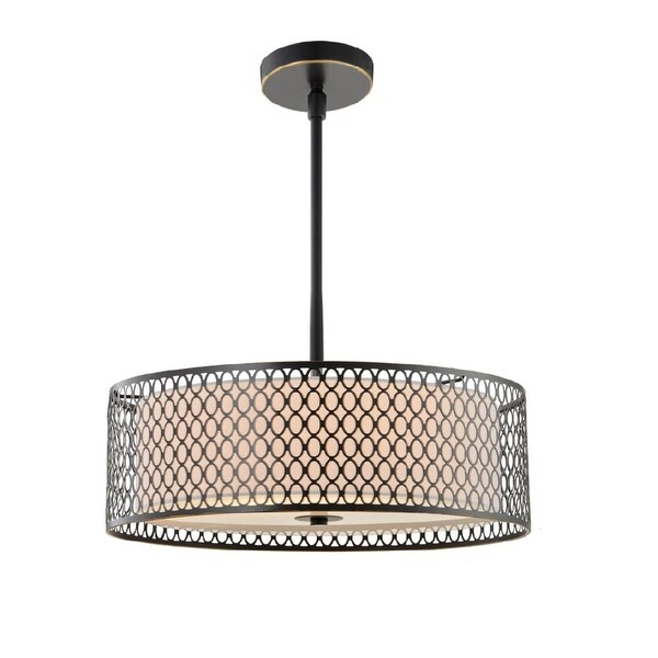 "Woodbridge Lighting 16622 Spencer 1-Light 22-1/16"" Wide Single Pendant"