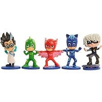 Just Play PJ Masks Collectible Figure Set (5 Pack) Styles May Carry