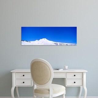 Easy Art Prints Panoramic Images's 'USA, Oregon, Mount Hood, winter' Premium Canvas Art