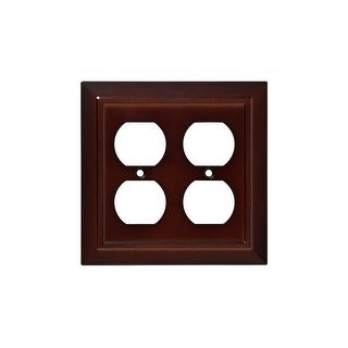 Franklin Brass W35247-C Classic Architecture Double Duplex Outlet Wall Plate