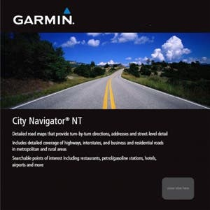 Garmin City Navigator Europe NT, Nordics (microSD) - Black