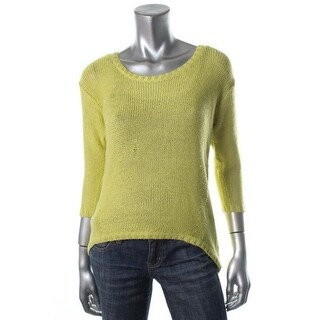 RD Style Womens Pullover Sweater Knit Hi-Low - M