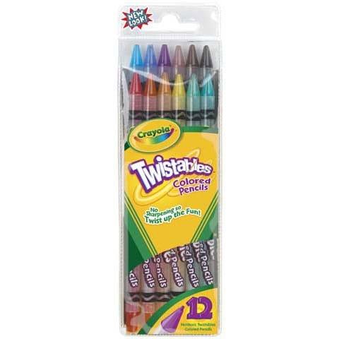 Crayola - Twistables Colored Pencil Set - 30-Color Set