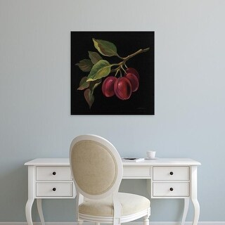 Easy Art Prints Silvia Vassileva's 'Prune no Words' Premium Canvas Art