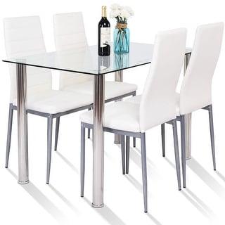 White Kitchen Dining Room Sets Online At Our Best Bar Furniture Deals