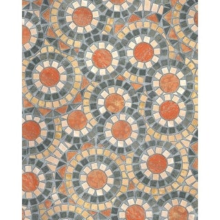 Brewster T346-0519 DC Fix 19.36 Square Foot Spanish Tile Imitating Self-Adhesive