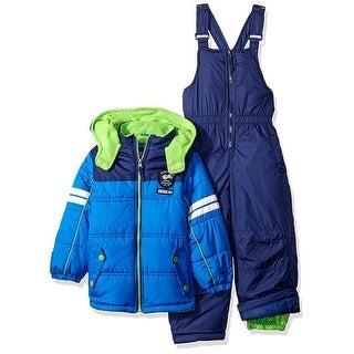 iXtreme Boys 4-7 Active Colorblock Snowsuit - Blue