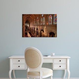 Easy Art Prints Brent Bergherm's 'Basilica Interior' Premium Canvas Art