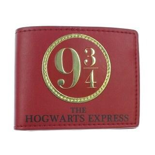 Harry Potter 9 3/4 Bi-Fold Wallet 5 x 4in