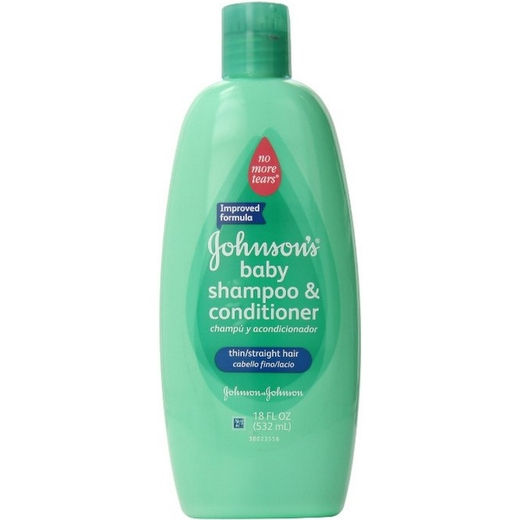 JOHNSON'S No More Tangles Shampoo Straight Hair 18 oz