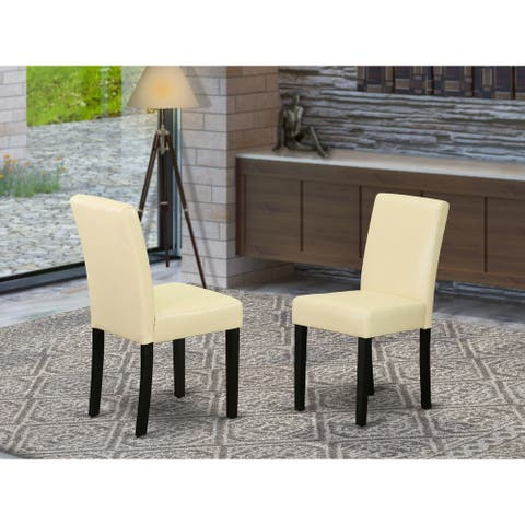 ABP1B06 Abbott parson Chair with Linen fabric-Shitake Color Option