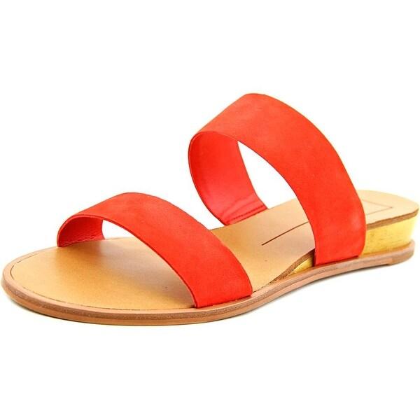 Dolce Vita Payce Women Open Toe Suede Slides Sandal