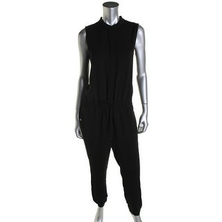 Vince Womens Jumpsuit Sleeveless Solid