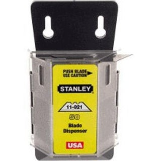 Stanley 122749 Heavy Duty Utility Knife Blade With Dispenser, 100/Pack