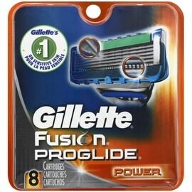 Gillette Fusion ProGlide Power Cartridges 8 Each