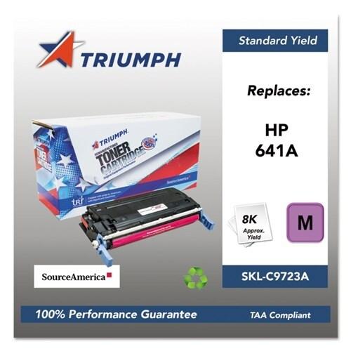 Triumph Remanufactured 641A Toner Cartridge - Magenta Toner Catridge