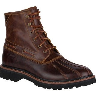Sperry Top-Sider Men's Gold Lug Duck Boot Brown/Tan Leather