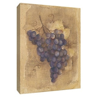 """PTM Images 9-154329  PTM Canvas Collection 10"""" x 8"""" - """"Grapes III"""" Giclee Fruits & Vegetables Art Print on Canvas"""