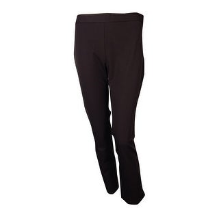 Charter Club Women's Modern Fit Slim Leg Side Zip Pants