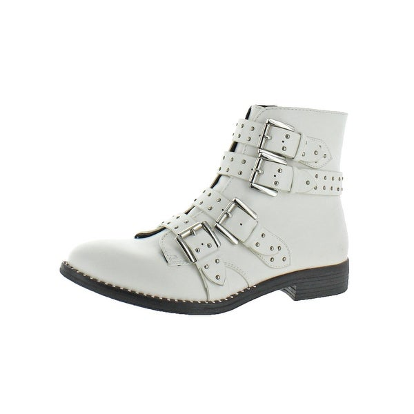 2ab0596a933 Shop Steve Madden Womens Reena Ankle Boots Studded Bootie - Free ...