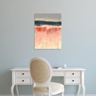 Easy Art Prints Jennifer Goldberger's 'Paynes Horizon I' Premium Canvas Art