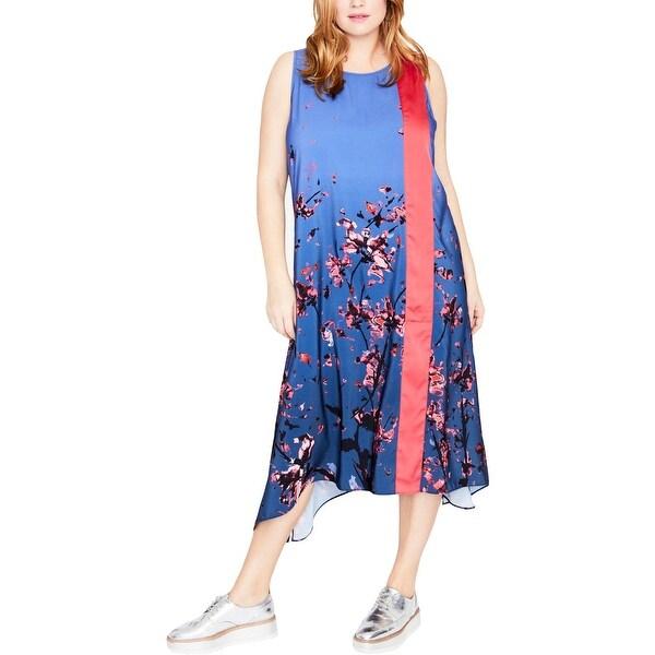 Rachel Roy Discount Gowns: Shop Rachel Rachel Roy Womens Plus Midi Dress Casual Day