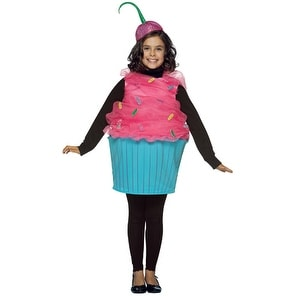Sweet Eats Kids Medium 7-10 Halloween Cupcake Costume - medium (size 7-10)