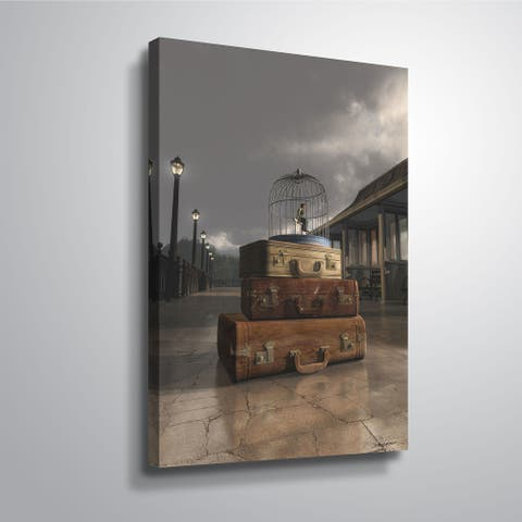"""""""Traveling"""" Gallery Wrapped Canvas"""