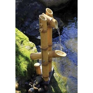 Aquascape 78013 Deer Scarer Bamboo Fountain with pump