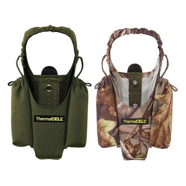 ThermaCELL Mosquito Repellent Appliance Holsters w/clips - 1 Olive, 1 Realtree