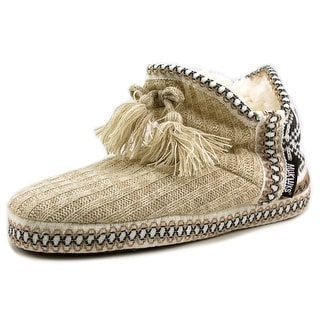 Muk Luks Sweater    Round Toe Canvas  Slipper