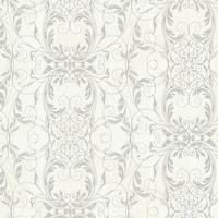 Brewster 2542-20729 Tianna Opal Ironwork Scroll Wallpaper