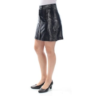 Womens Black Casual Skirt Size 8