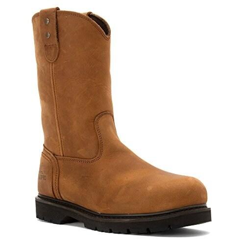 TEGOPRO Men's T40000 Construction Shoes 10 Brown