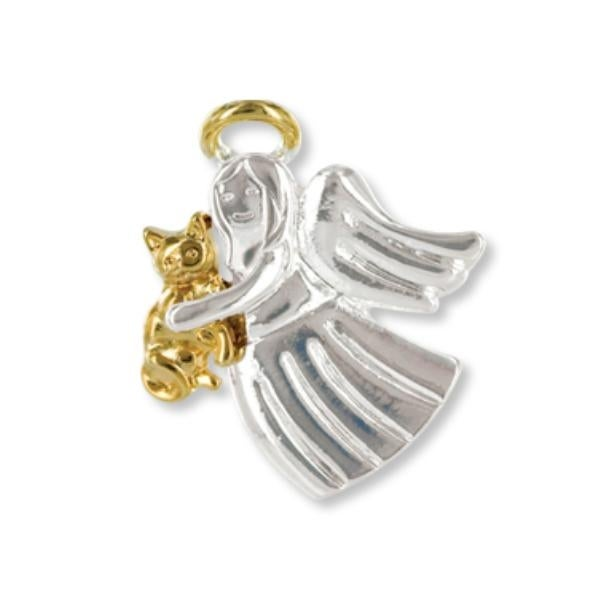 Ddi Wings And Wishes Angel For A Cat Lover (pack Of 28)