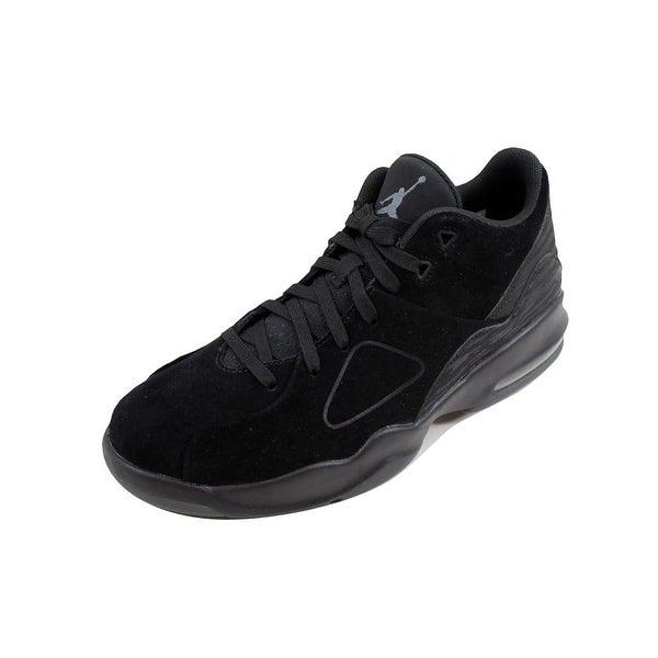 Shop Nike Men's Air Jordan Franchise - Black/Black-Dark Grey 881472-011 - - Franchise 22919479 ff7095