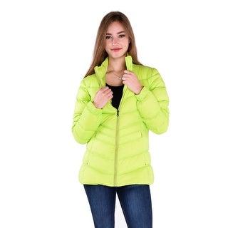 Pajar Renee Ladies Lightweight Down Jacket in Bright Green