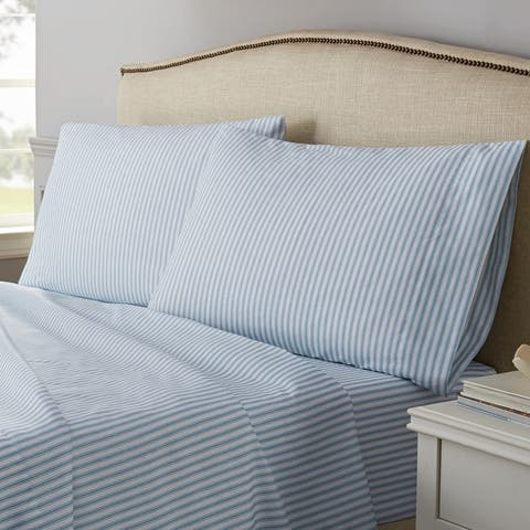 Traditions by Waverly Ticking Stripe Sheet Set