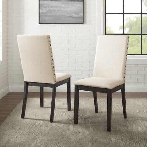 """Hayden 2Pc Upholstered Chair Set - 18.5 """"W x 24.25 """"D x 39.75 """"H"""