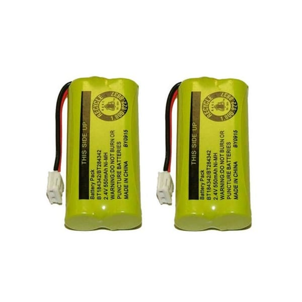 New Replacement Battery For Vtech BT28433 Cordless Home Phone Models - ( 2 Pack )