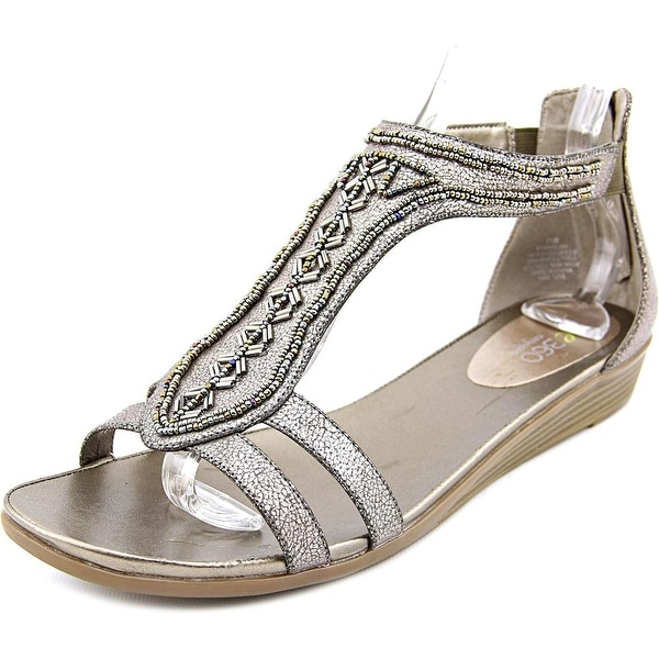 Easy Spirit e360 Amalina Women Open Toe Synthetic Wedge Sandal