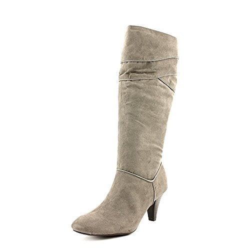Karen Scott Womens Marci Almond Toe Mid-Calf Fashion Boots