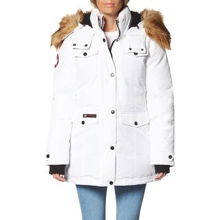 Link to Canada Weather Gear Parka Coat for Women-Insulated Faux Fur Hooded Winter Jacket Similar Items in Women's Outerwear