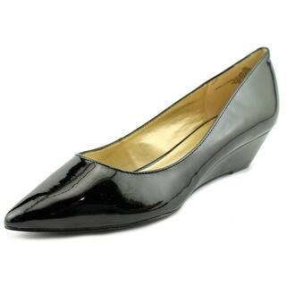 Bandolino Yara Women Open Toe Synthetic Black Wedge Heel|https://ak1.ostkcdn.com/images/products/is/images/direct/ffbbfea3016de3322b04cb2a387694ea9fe757a3/Bandolino-Yara-Open-Toe-Synthetic-Wedge-Heel.jpg?impolicy=medium