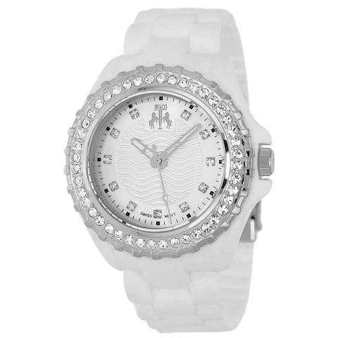 Jivago Women's Cherie Silver Dial Watch - JV8213