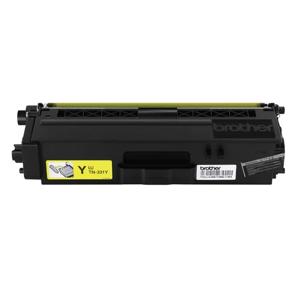 Brother TN331Y Brother TN331Y Toner Cartridge - Yellow - Laser - 1500 Page - 1 Each